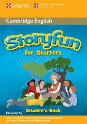 Storyfun for Starters Student's Book, Saxby Karen