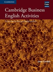 Cambridge Business English Activities, Jane Cordell