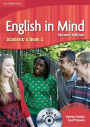 English in Mind 1 Student's Book + DVD, Puchta Herbert, Stranks Jeff