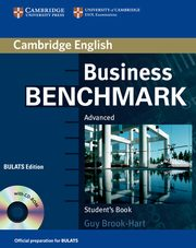 Business Benchmark Advanced Student's Book + CD, Brook-Hart Guy