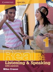 Cambridge English Skills Real 1 Listening and Speaking with answers + 2CD, Craven Miles