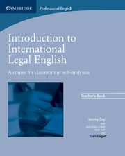 Introduction to International Legal English Teacher's Book, Day Jeremy