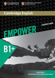 Cambridge English Empower Intermediate Teacher's Book, Godfrey Rachel, Gairns Ruth, Redman Stuart