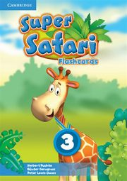Super Safari 3 Flashcards, Puchta Herbert, Gerngross Günter