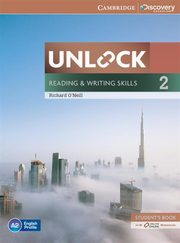Unlock: Reading & Writing Skills 2 Student's Book + Online Workbook, O'Neill Richard