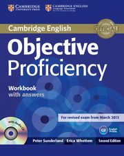 Objective Proficiency Workbook with answers with CD, Sunderland Peter, Whetten Erica