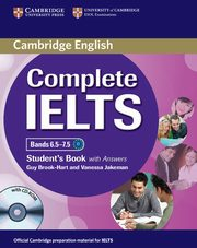 Complete IELTS Bands 6.5-7.5 Student's Book with answers + CD, Brook-Hart Guy, Jakeman Vanessa