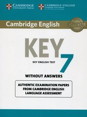 Cambridge English Key 7 Student's Book without Answers,