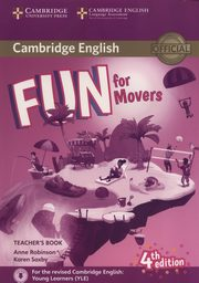 Fun for Movers Teacher?s Book + Downloadable Audio, Robinson Anne, Saxby Karen