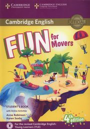Fun for Movers Student's Book + Online Activities, Robinson Anne, Saxby Karen