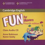 Fun for Movers Class Audio CD, Robinson Anne, Saxby Karen