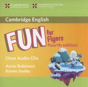 Fun for Flyers Class Audio 2 CD, Robinson Anne, Saxby Karen