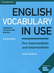 English Vocabulary in Use Pre-intermediate and Intermediate with answers, Redman Stuart