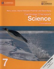 Cambridge Checkpoint Science 7 Coursebook, Jones Mary, Fellowes-Freeman Diane, Sang David