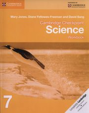 Cambridge Checkpoint Science 7 Workbook, Jones Mary, Fellowes-Freeman Diane, Sang David