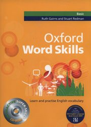 Oxford Word Skills Basic + CD, Gairns Ruth, Redman Stuart