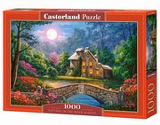 Puzzle 1000 Cottage in the Moon Garden,
